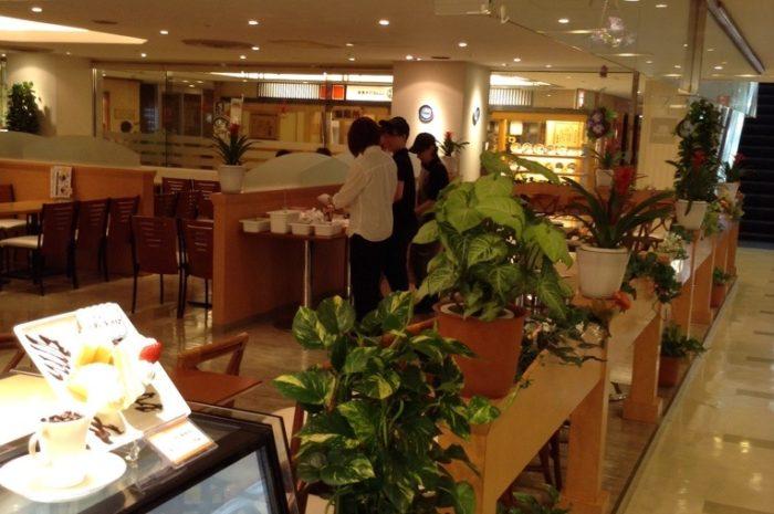 世界に一つだけのパフェを作ろう!  予行演習♩ @   カフェ風車アクア広島センター街店