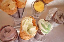 カフェ風車ソフトクリーム