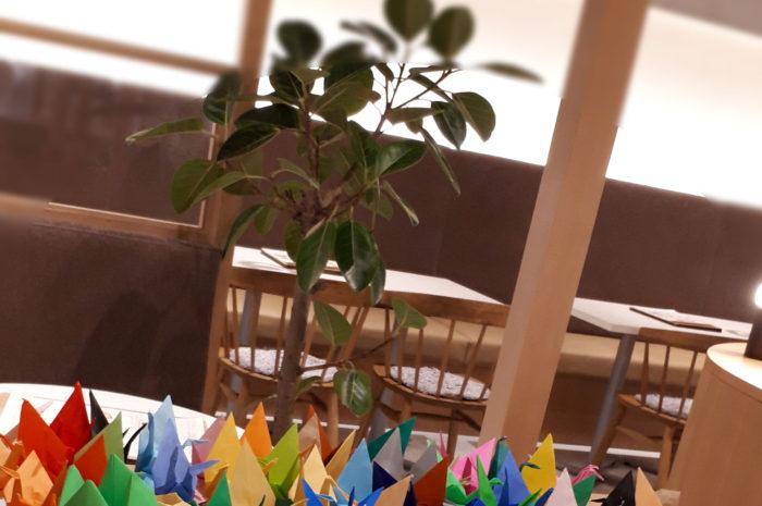折り鶴 @パフェとチーズ風車 ジ アウトレット広島店