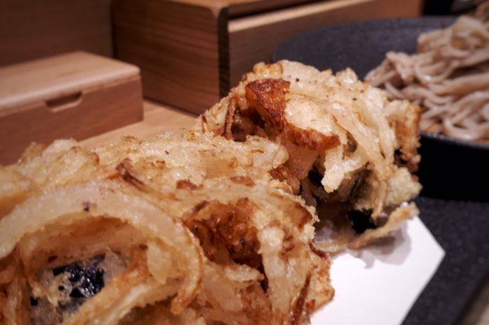 広島かき揚げ蕎麦