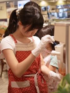 アクア広島センター街 【夏休み体験教室 世界に一つだけのパフェを作ろう!】 @カフェ風車アクア広島センター街店