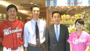 広島 中国放送RCC イマなま3チャンネル 高橋建さんと久保田夏菜さん