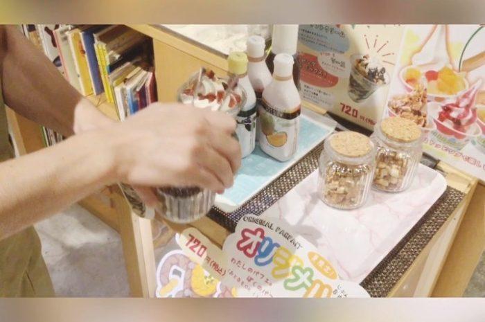 夏休みの自由研究 @カフェ風車 ジ アウトレット広島店