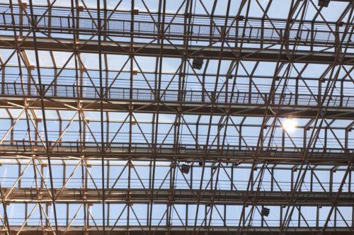 広島県立図書館屋根
